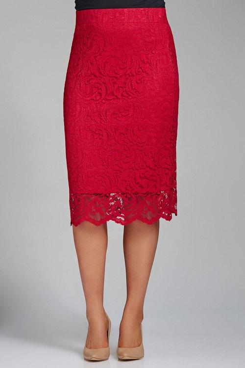 Sara Stretch Lace Skirt