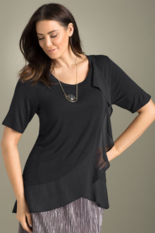 Plus Size - Sara Ruffle Top