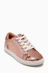 Next Gold Mirror Trainers (Older Girls)