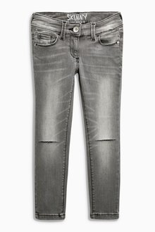 Next Knee Ripped Skinny Jeans (3-16yrs) - Skinny Fit