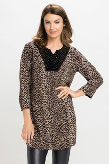 Grace Hill Beaded Tunic - 168756