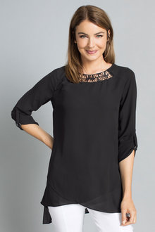 Capture Lace Detail Tunic - 168761