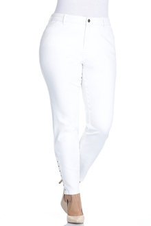 Plus Size - Sara So Slimming Girlfriend Jean