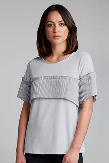 Grace Hill Pleat Front Tee