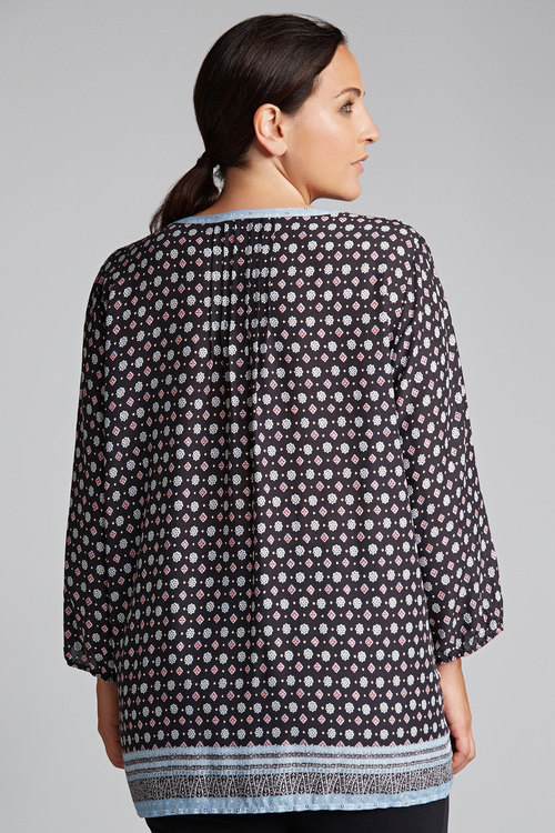 Sara Printed Viscose Shirt