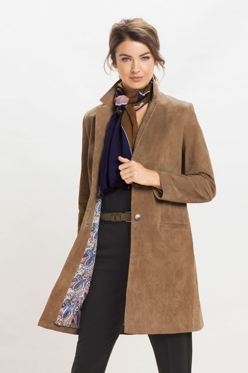 Grace Hill Suede Coat
