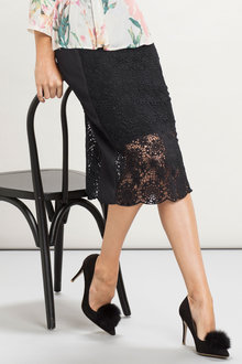 Grace Hill Lace Skirt