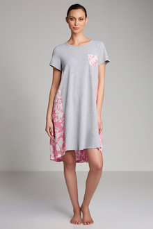 Mia Lucce Printed Nightie