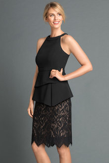 Grace Hill Lace Skirt Dress
