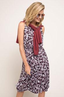 Capture Knit Tie Waist Dress