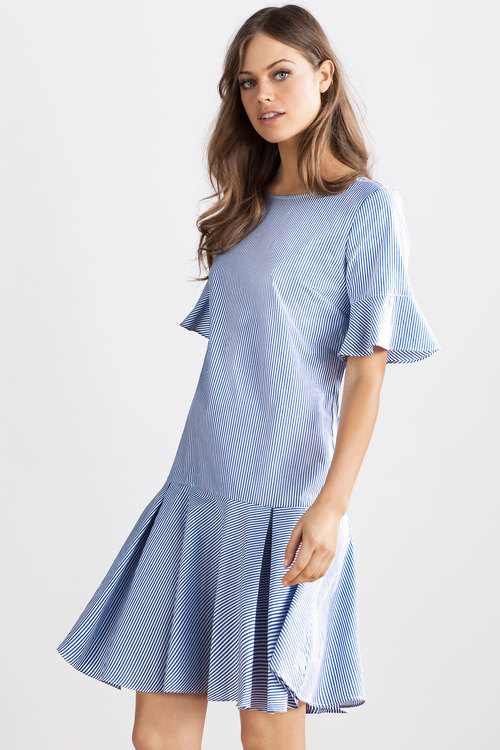 Emerge Ruffle Hem Dress