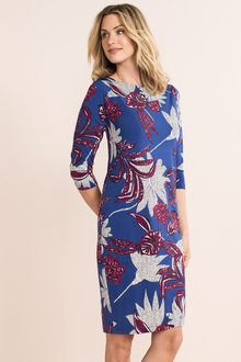 Capture Print Dress