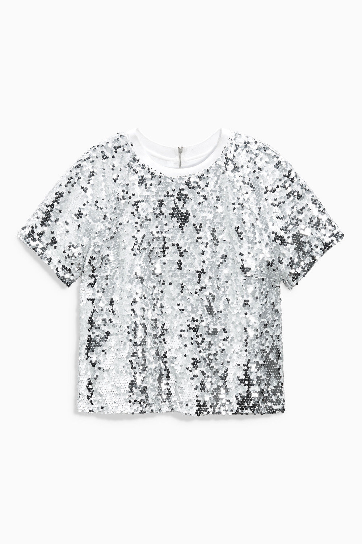 0eb5ad6931b Next Silver Sequin Top Online   Shop EziBuy