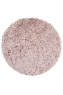 Freja Faux Fur Round Rug