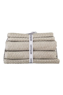 Quadretti Jacquard Towel Set