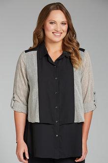 Plus Size - Sara Tiered Shirt