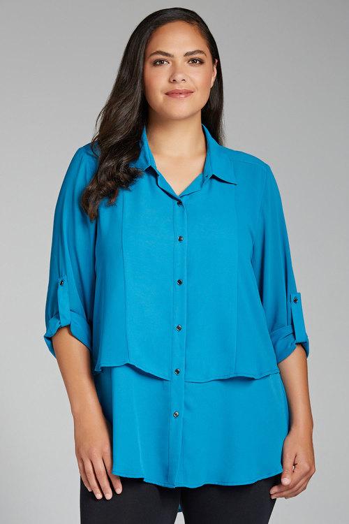 Sara Tiered Shirt