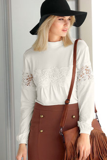 Urban Lace Detail Top