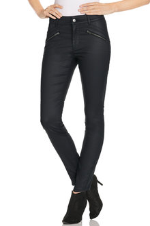 Grace Hill Coated Jeans