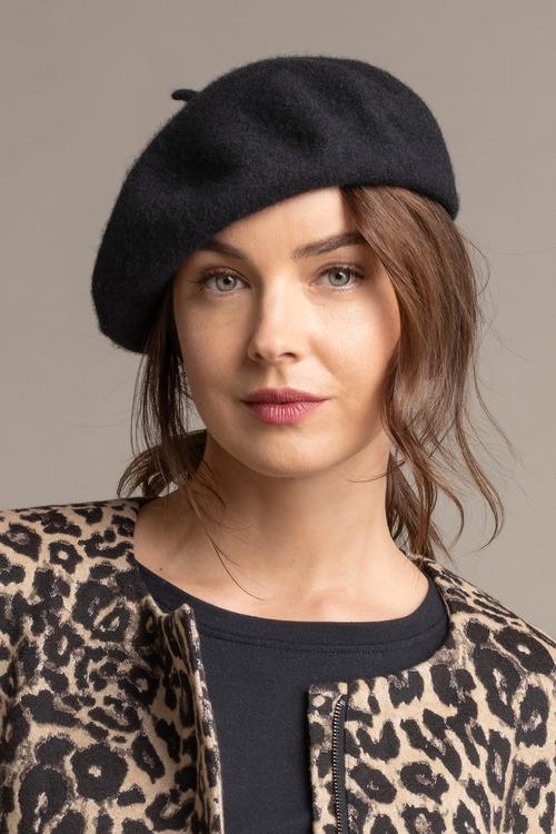 Felt Beret Hat