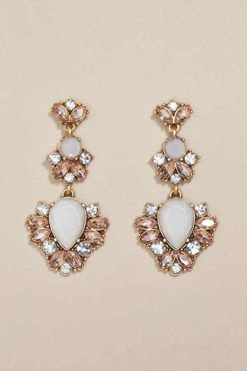 Next Pretty Jewelled Drop Earrings