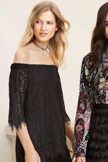Next Off Shoulder Lace Top