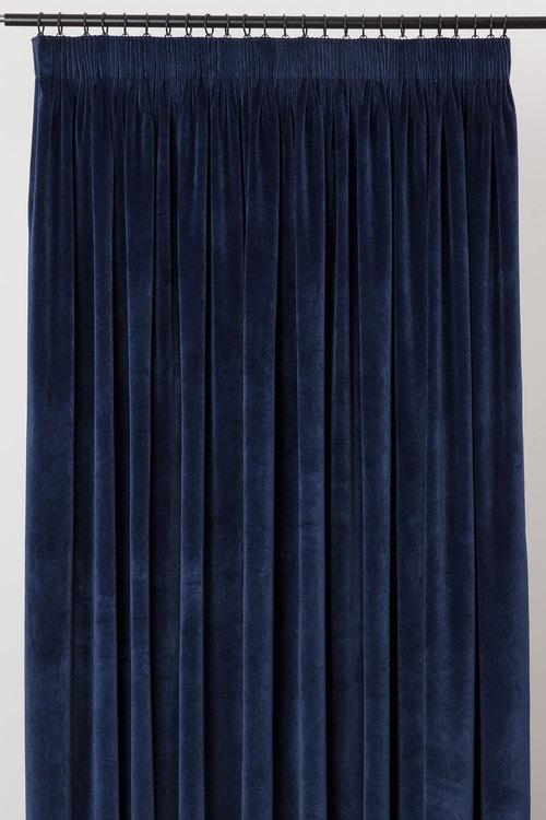 Velvet Pencil Pleat Curtains Online Shop Ezibuy Home