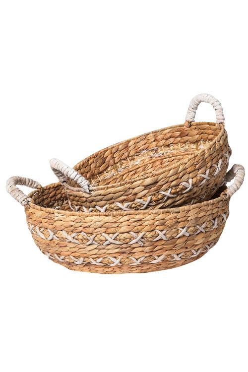 Tau Short Basket Set of 2