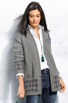 Capture European Long Cardigan