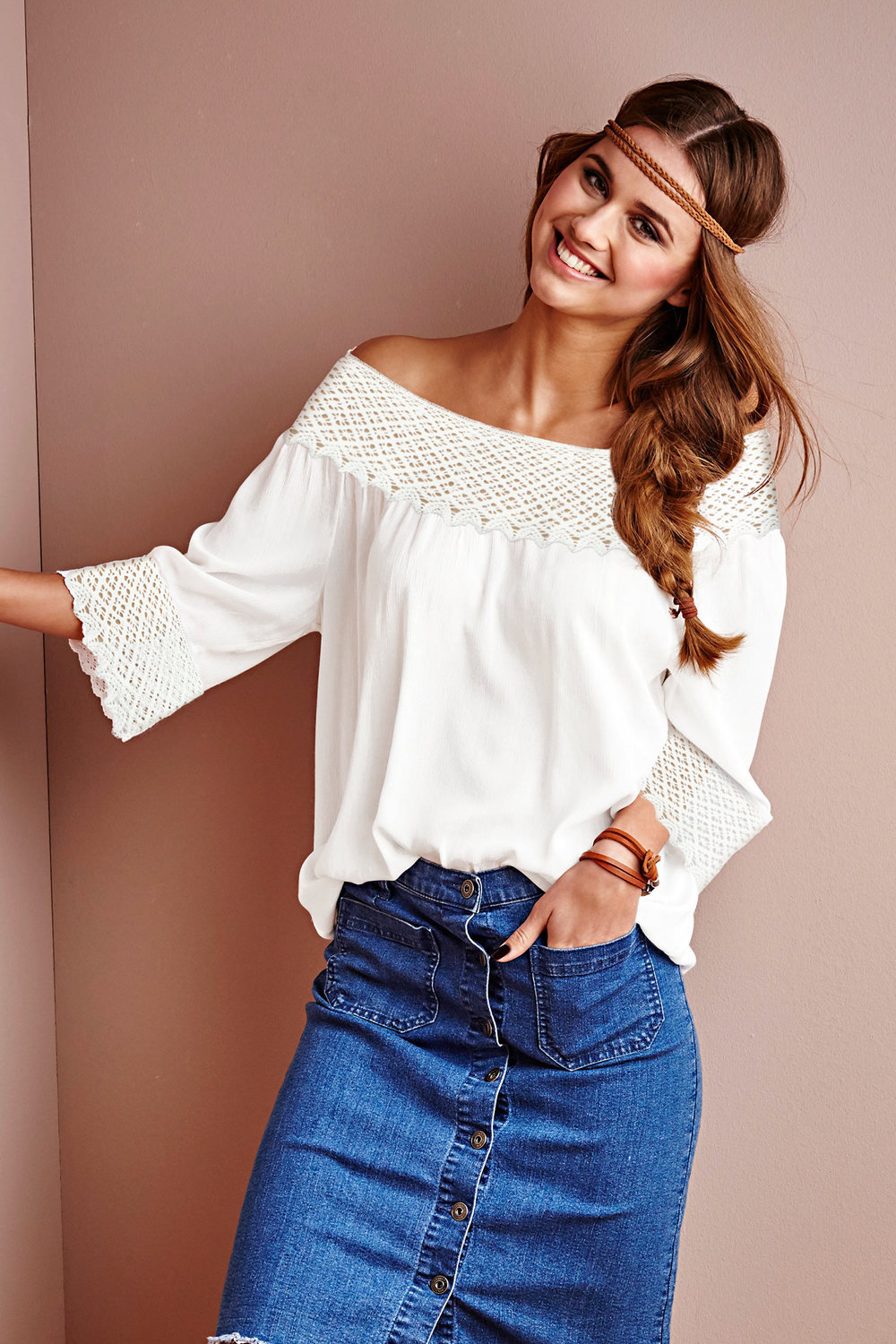 Urban Bohemian Lace Top Online Shop Ezibuy