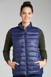 Plus Size - Sara Puffer Vest