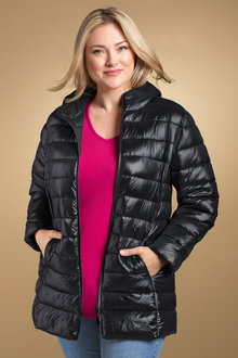 Plus Size - Sara Puffer Jacket
