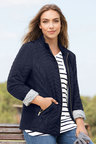 Plus Size - Sara Quilted Jacket