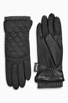 Next Nylon Quilted Gloves