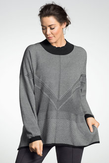 Plus Size - Sara Jacquard Sweater