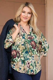 Plus Size - Sara Essential Blouse