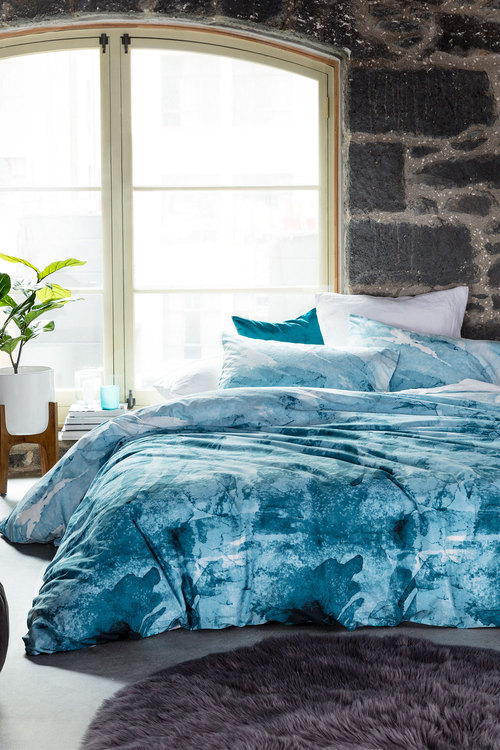 Ink Wash Duvet Cover Set