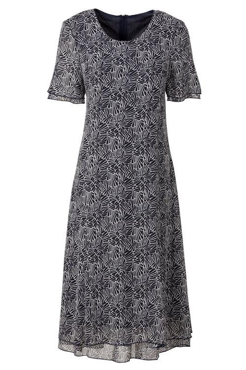 Capture European Printed Dress