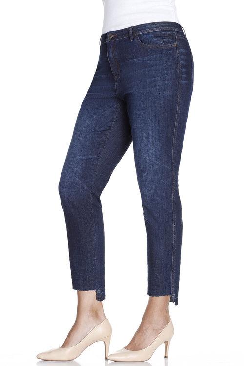 Plus Size - Sara Step Hem Jean