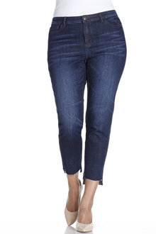 Plus Size - Sara Step Hem Jean