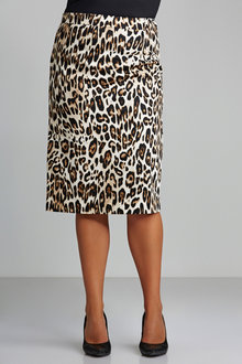 Plus Size - Sara Midi Skirt