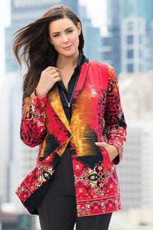 Plus Size - Sara Statement Jacket