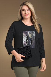 Plus Size - Sara Sequin Tee
