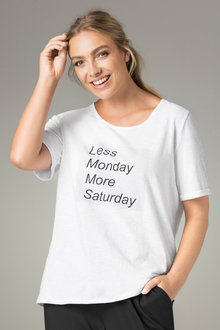 Plus Size - Sara Novelty Tee
