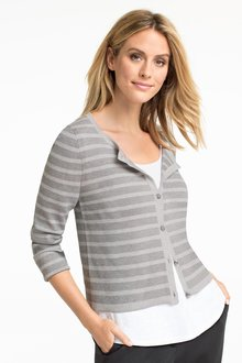 Grace Hill Stripe Cardigan