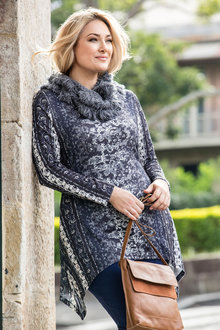 Plus Size - Sara Winter Knit Tunic