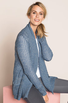 Capture Ribbed Cardigan