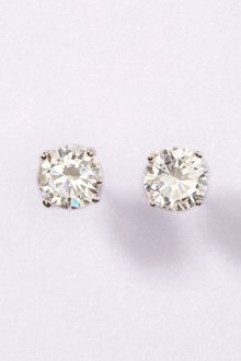Next Sterling Silver Sterling Silver Cubic Zirconia Stud Earrings - 170758