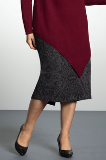 Plus Size - Sara Classic Stretch Skirt