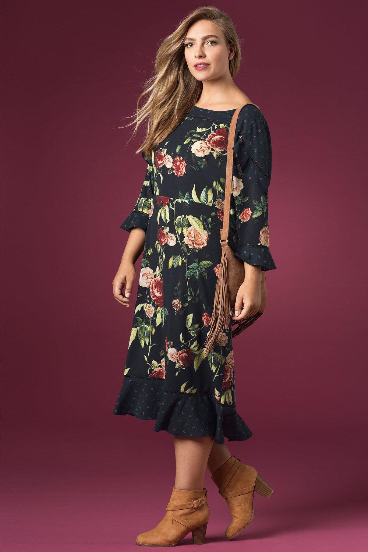 342f8223572 Sara Ruffle Dress Online   Shop EziBuy
